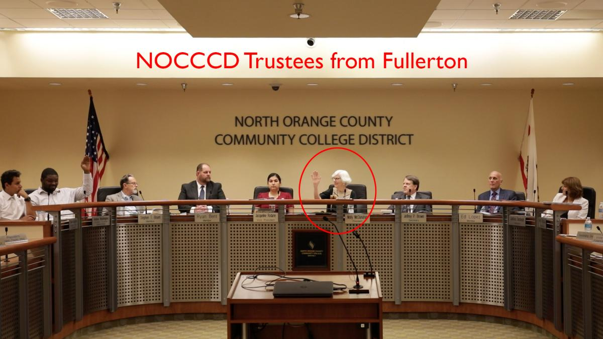 Trustees from Fullerton