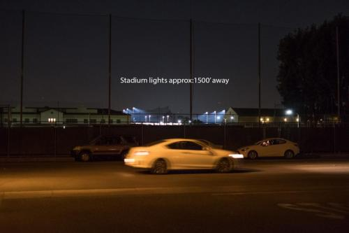 FUHS-Stadium-Lights-1500-Feet-From-FJC-Campus